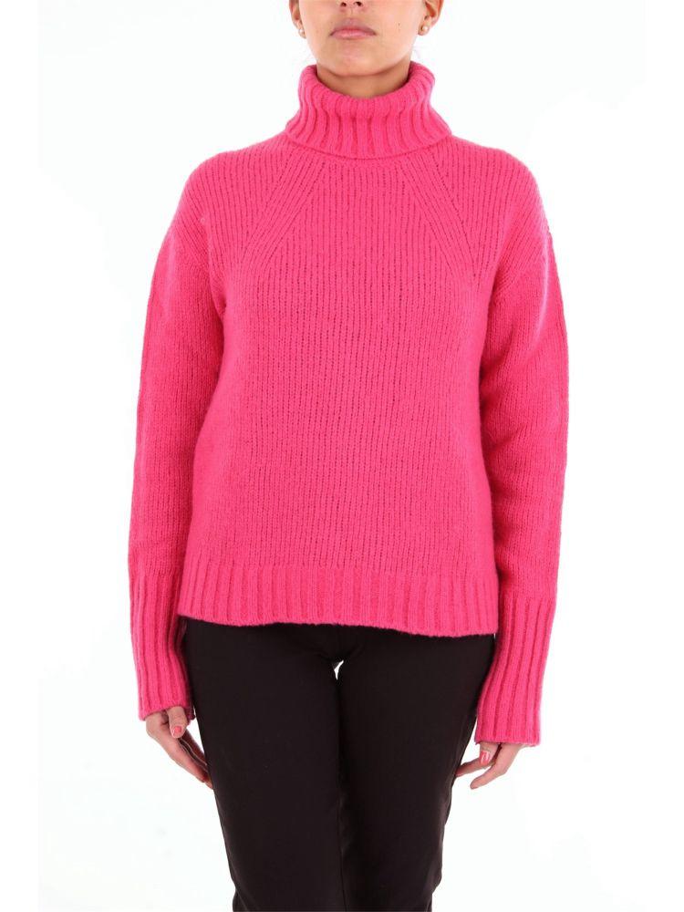 Philosophy Women's Fuchsia Wool Sweater