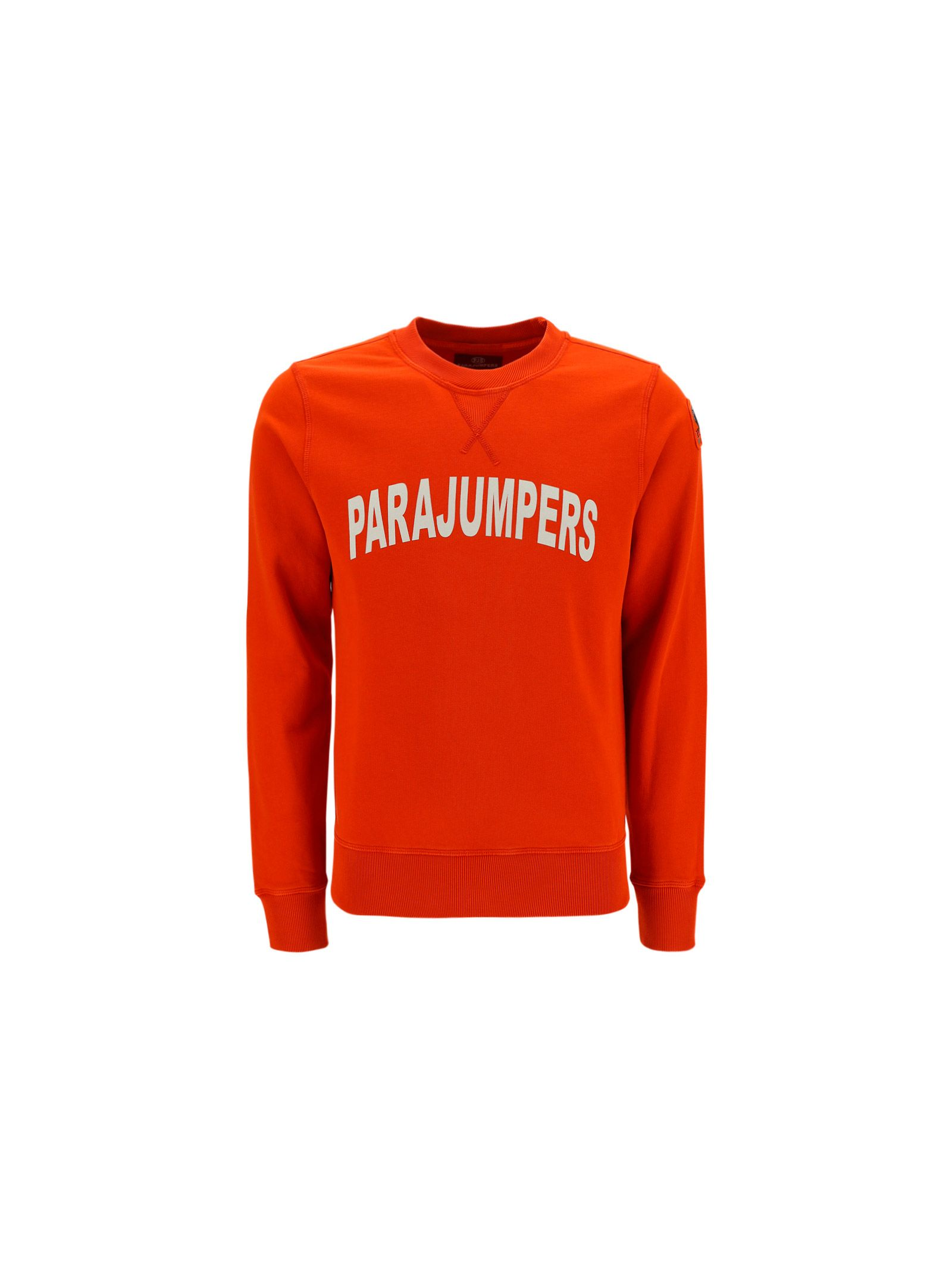 Parajumpers PARAJUMPERS MEN'S ORANGE OTHER MATERIALS SWEATSHIRT