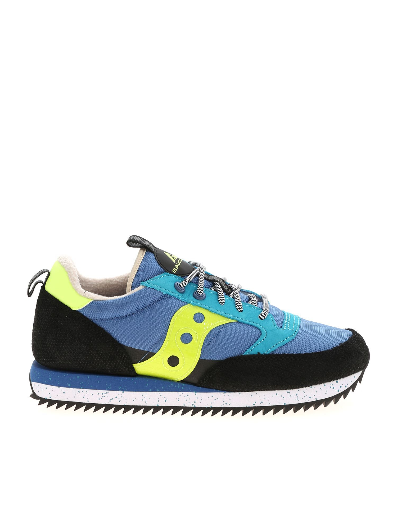 SAUCONY SAUCONY MEN'S BLUE SNEAKERS