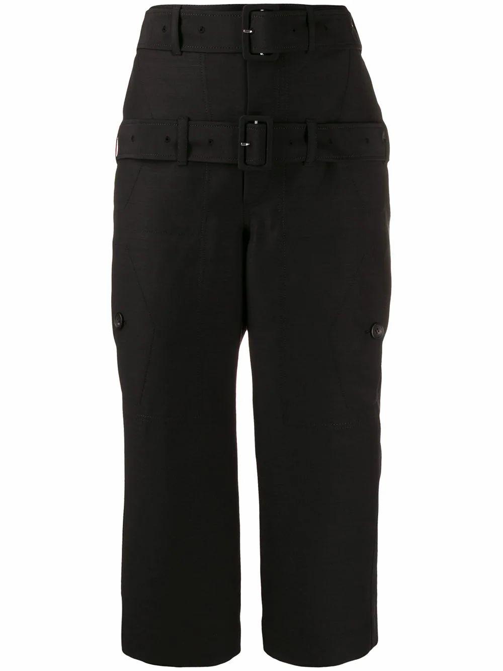 Lanvin LANVIN WOMEN'S BLACK WOOL PANTS