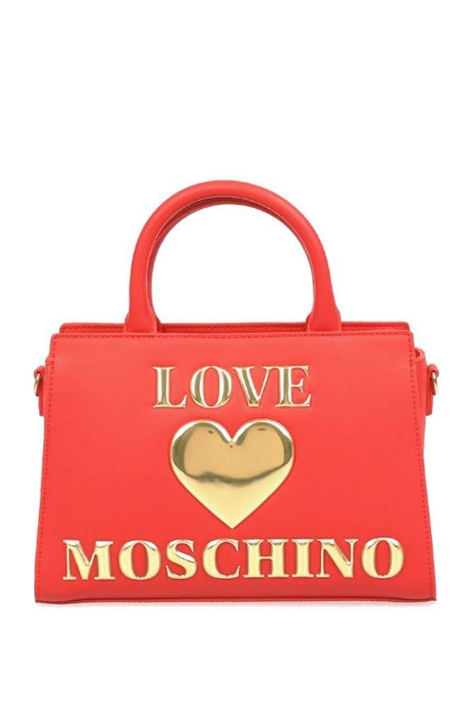 Love Moschino LOVE MOSCHINO WOMEN'S RED POLYURETHANE HANDBAG