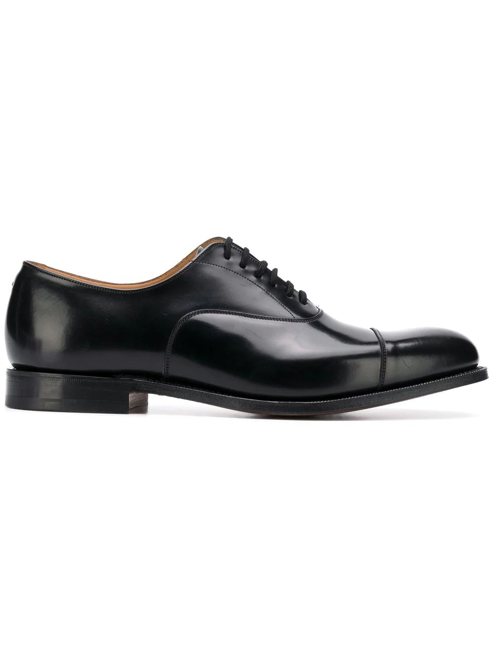 Church's  BLACK LEATHER LACE-UP SHOES