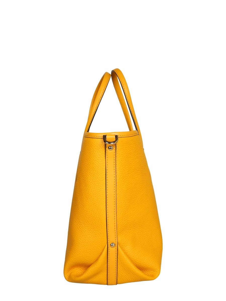 MICHAEL KORS Leathers MICHAEL KORS WOMEN'S YELLOW LEATHER TOTE