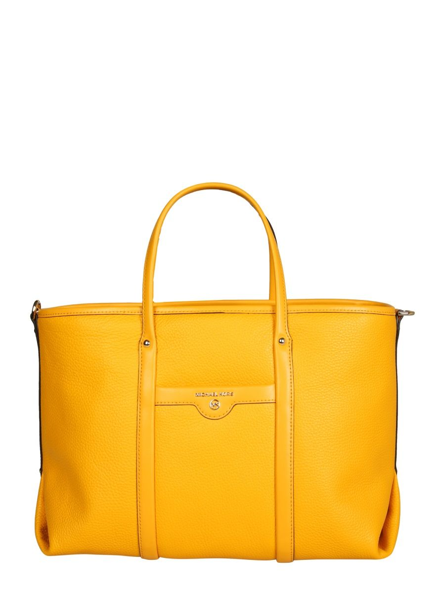 Michael Kors MICHAEL KORS WOMEN'S YELLOW LEATHER TOTE