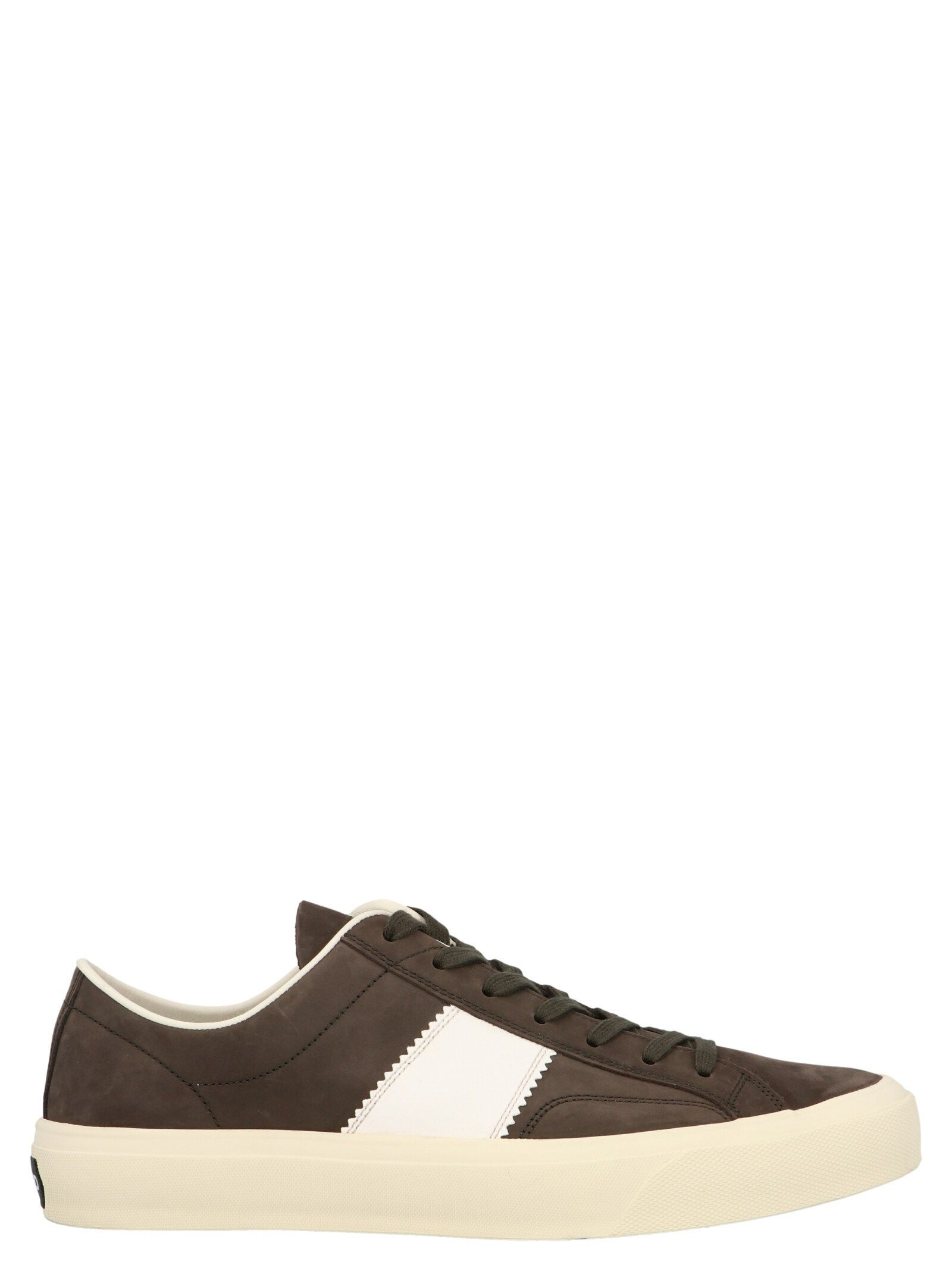 Tom Ford TOM FORD MEN'S BROWN OTHER MATERIALS SNEAKERS
