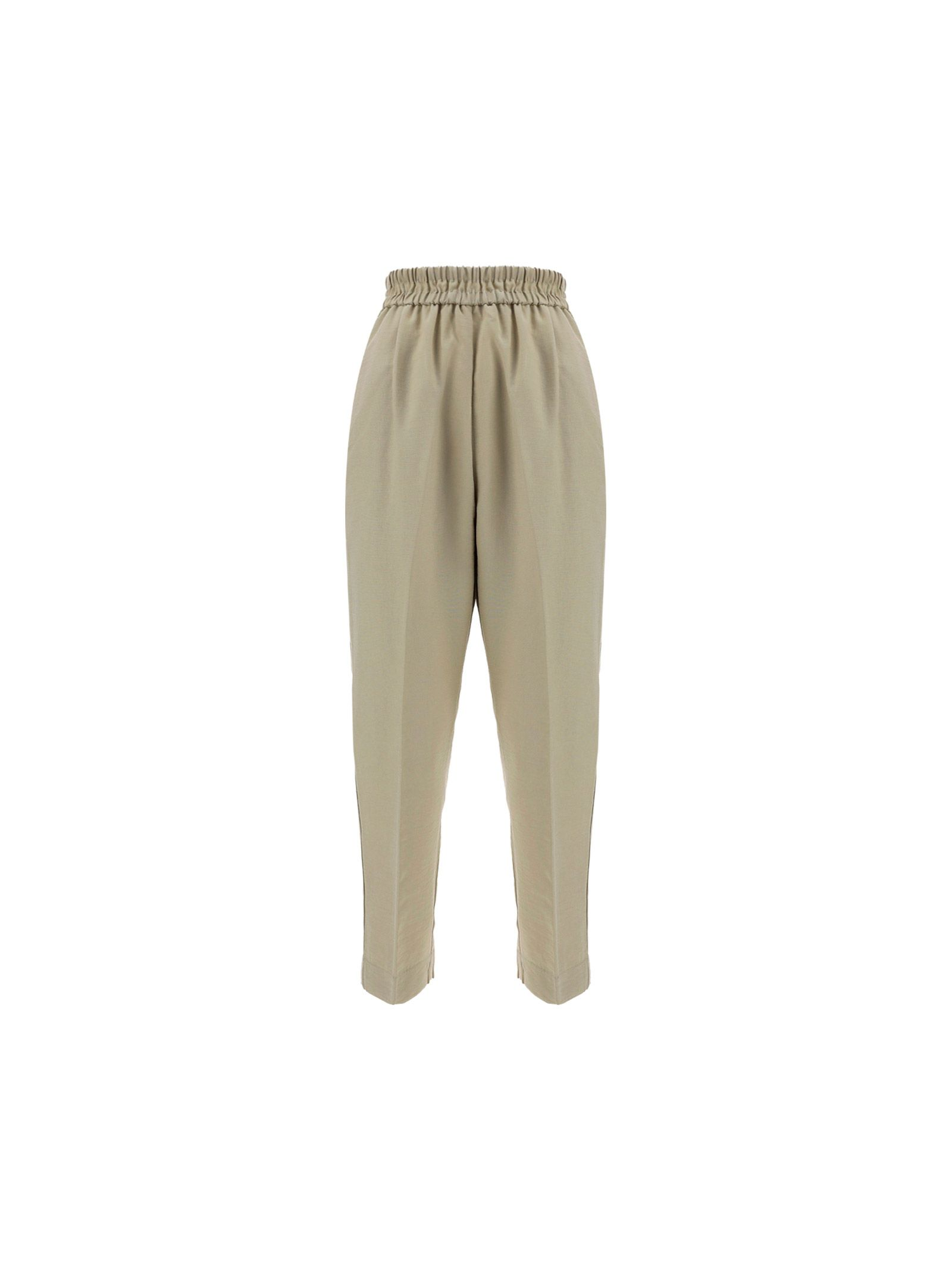 Forte Forte FORTE FORTE WOMEN'S GREEN OTHER MATERIALS PANTS