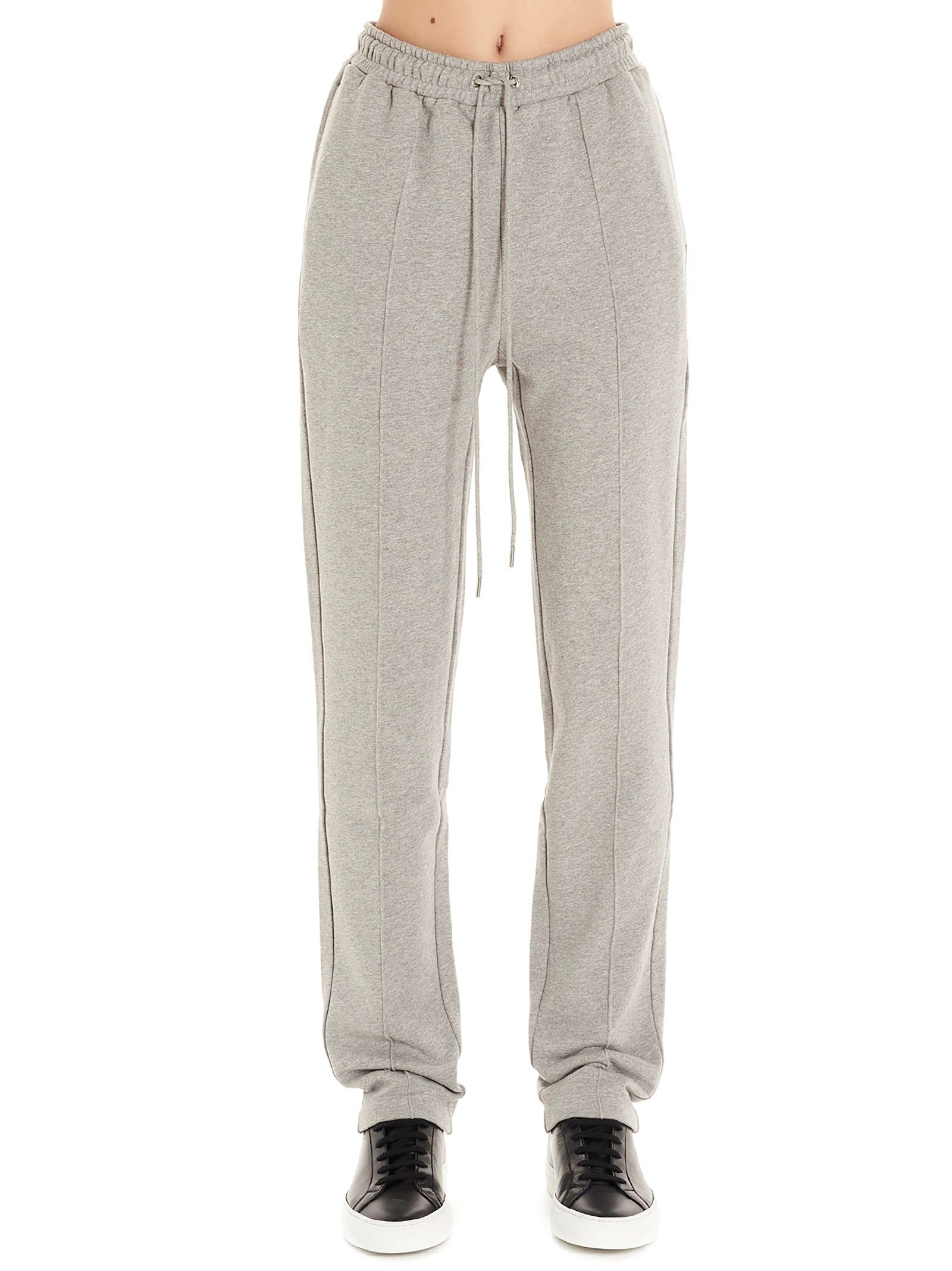 Markus Lupfer GREY COTTON JOGGERS