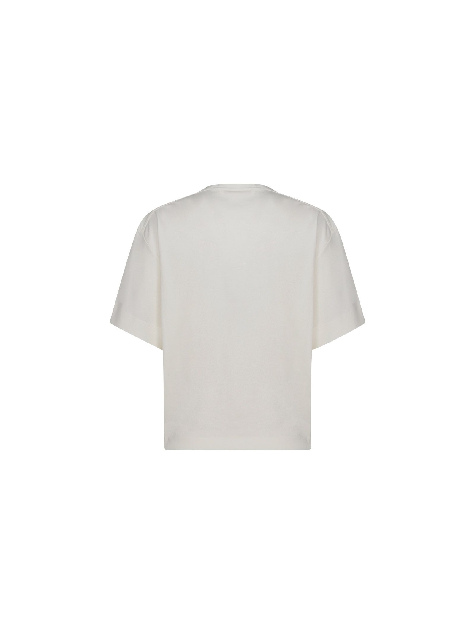 CHLOÉ Cottons CHLOÉ WOMEN'S WHITE COTTON T-SHIRT
