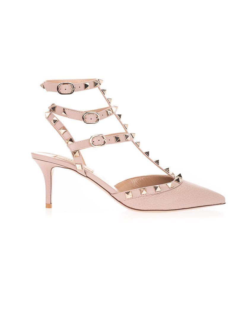 Valentino Sandals VALENTINO GARAVANI WOMEN'S PINK OTHER MATERIALS SANDALS