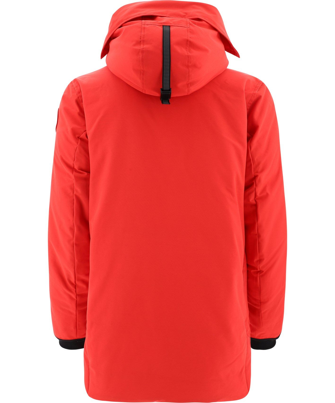 CANADA GOOSE Cottons CANADA GOOSE MEN'S RED POLYESTER OUTERWEAR JACKET