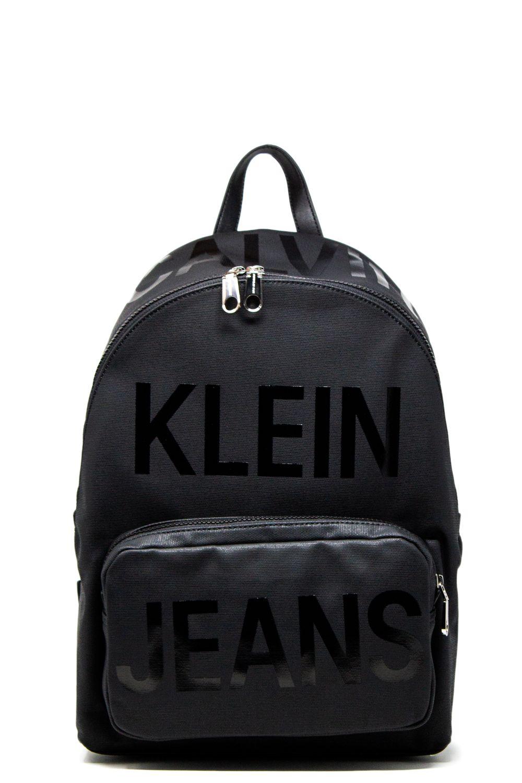 Calvin Klein Black Cotton Backpack