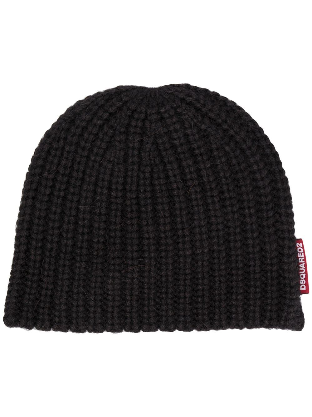 Dsquared2 DSQUARED2 WOMEN'S BLACK WOOL HAT