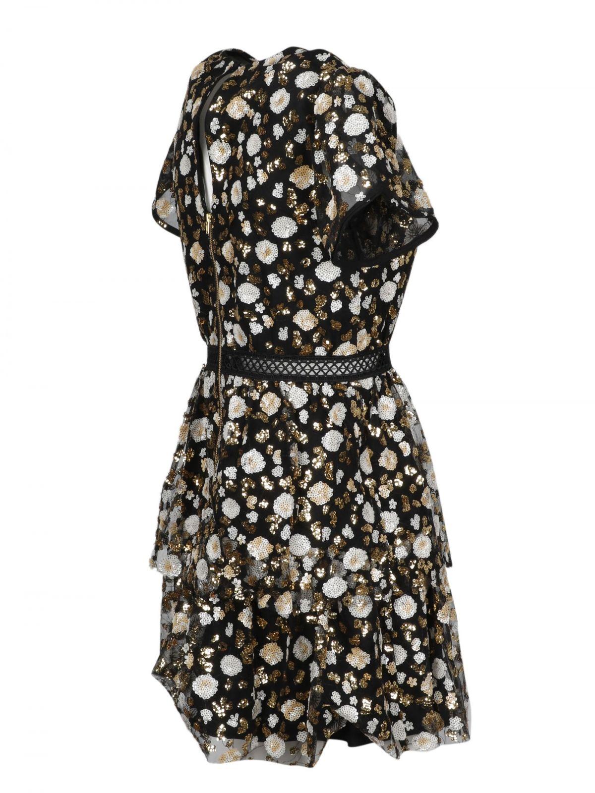 SELF-PORTRAIT Dresses SELF-PORTRAIT WOMEN'S BLACK POLYESTER DRESS