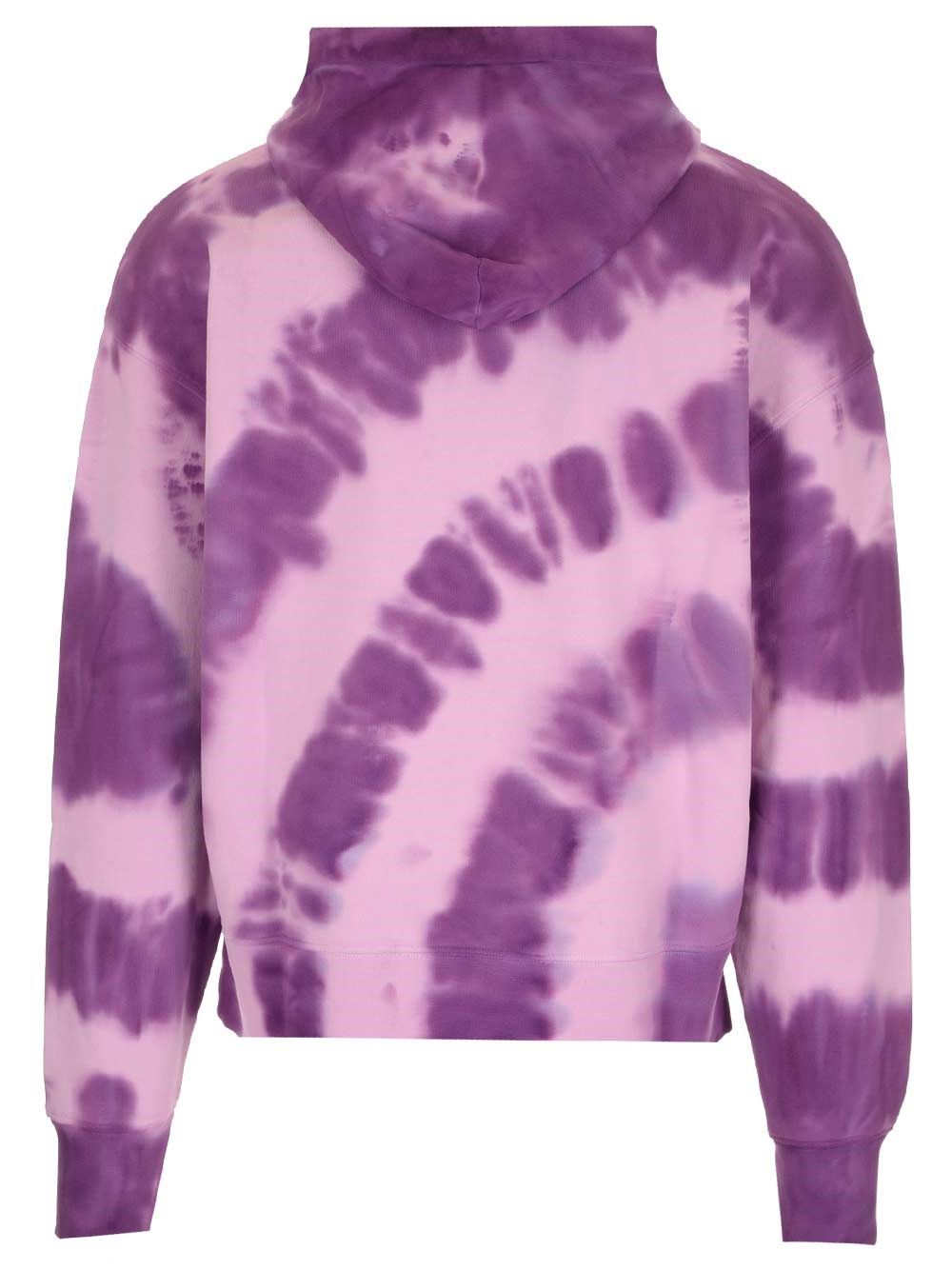 MSGM Cottons MSGM MEN'S PURPLE OTHER MATERIALS SWEATSHIRT