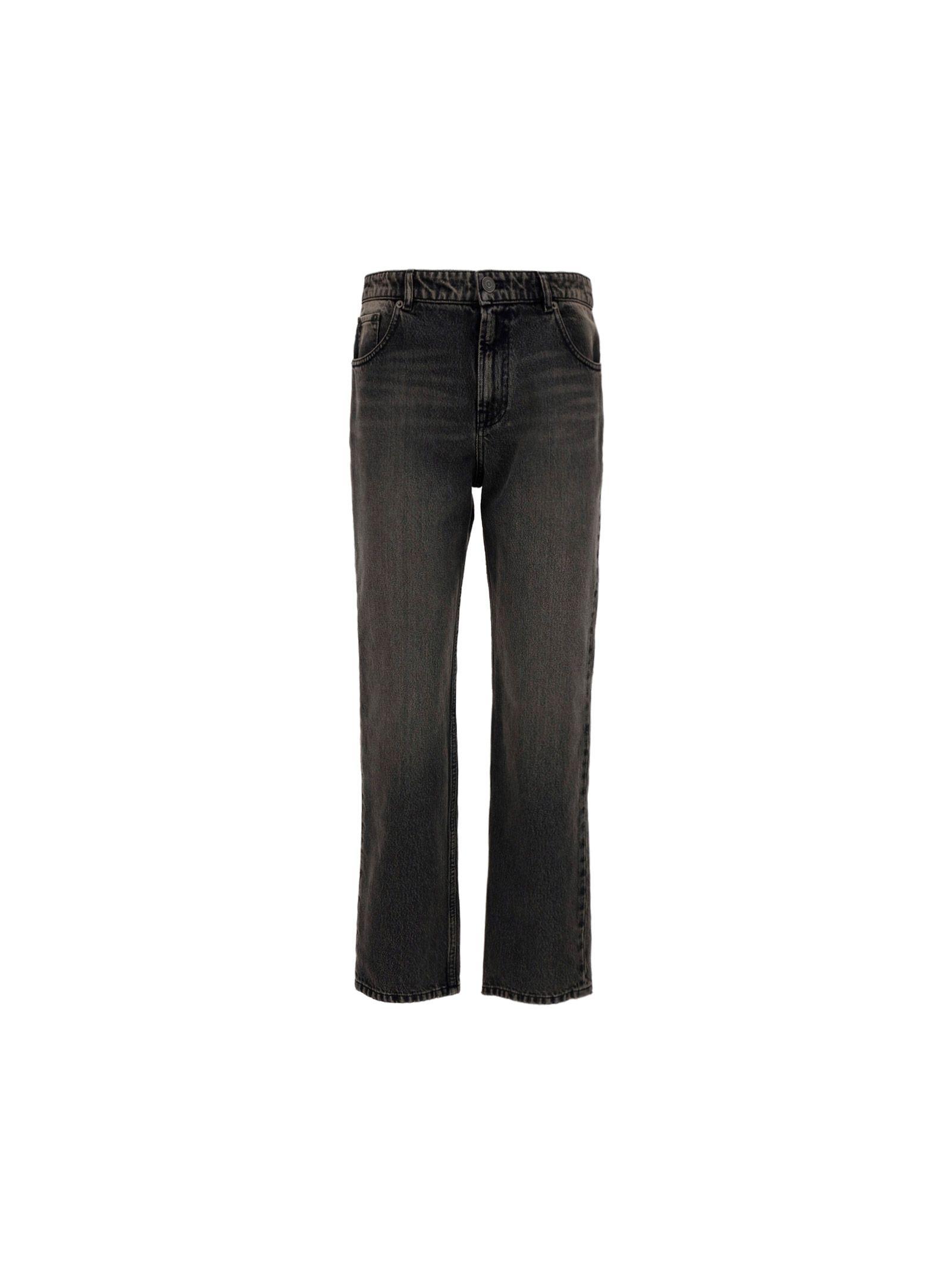 Balenciaga BALENCIAGA WOMEN'S BLACK OTHER MATERIALS PANTS