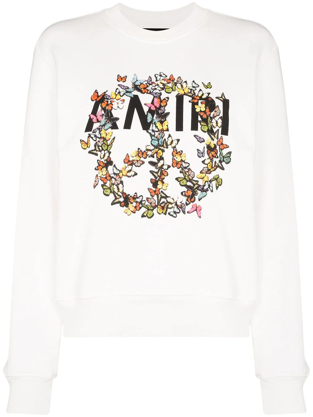 Amiri WHITE COTTON SWEATSHIRT