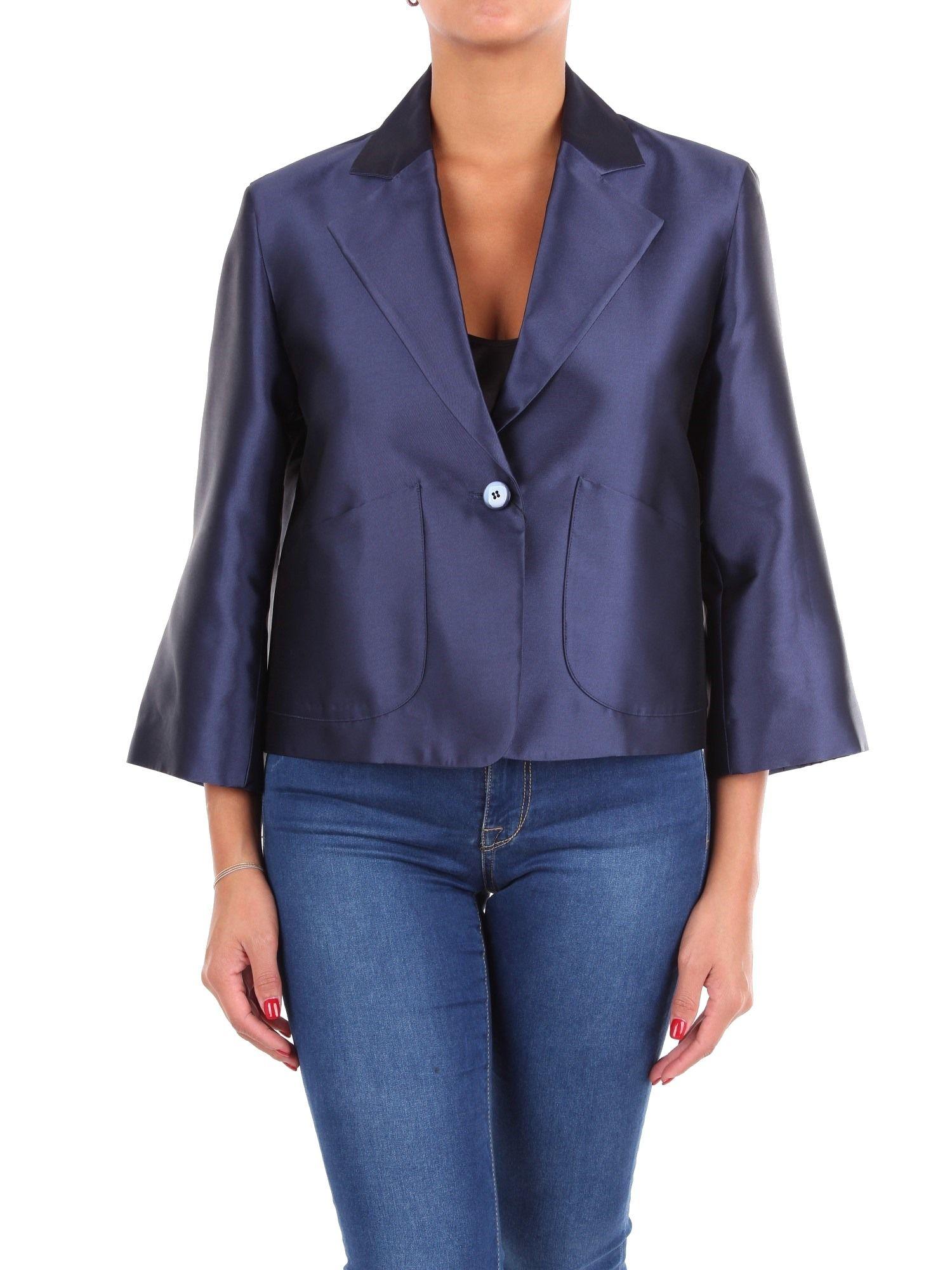 seleziona per autentico nuova versione nuovo economico Emporio Armani Blue Blazer | ModeSens