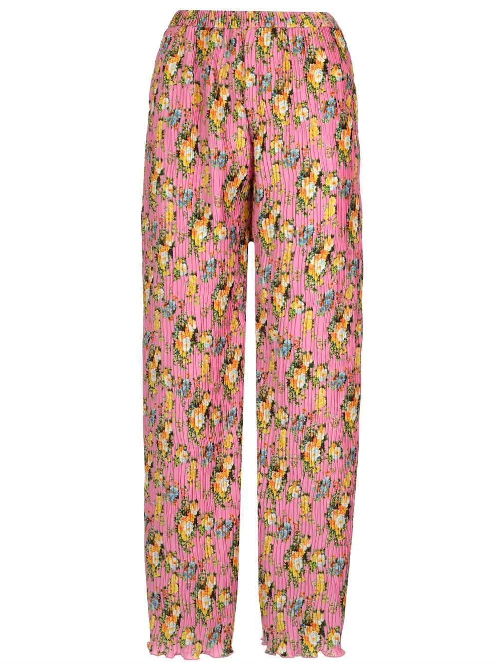 Msgm MSGM WOMEN'S PINK OTHER MATERIALS PANTS