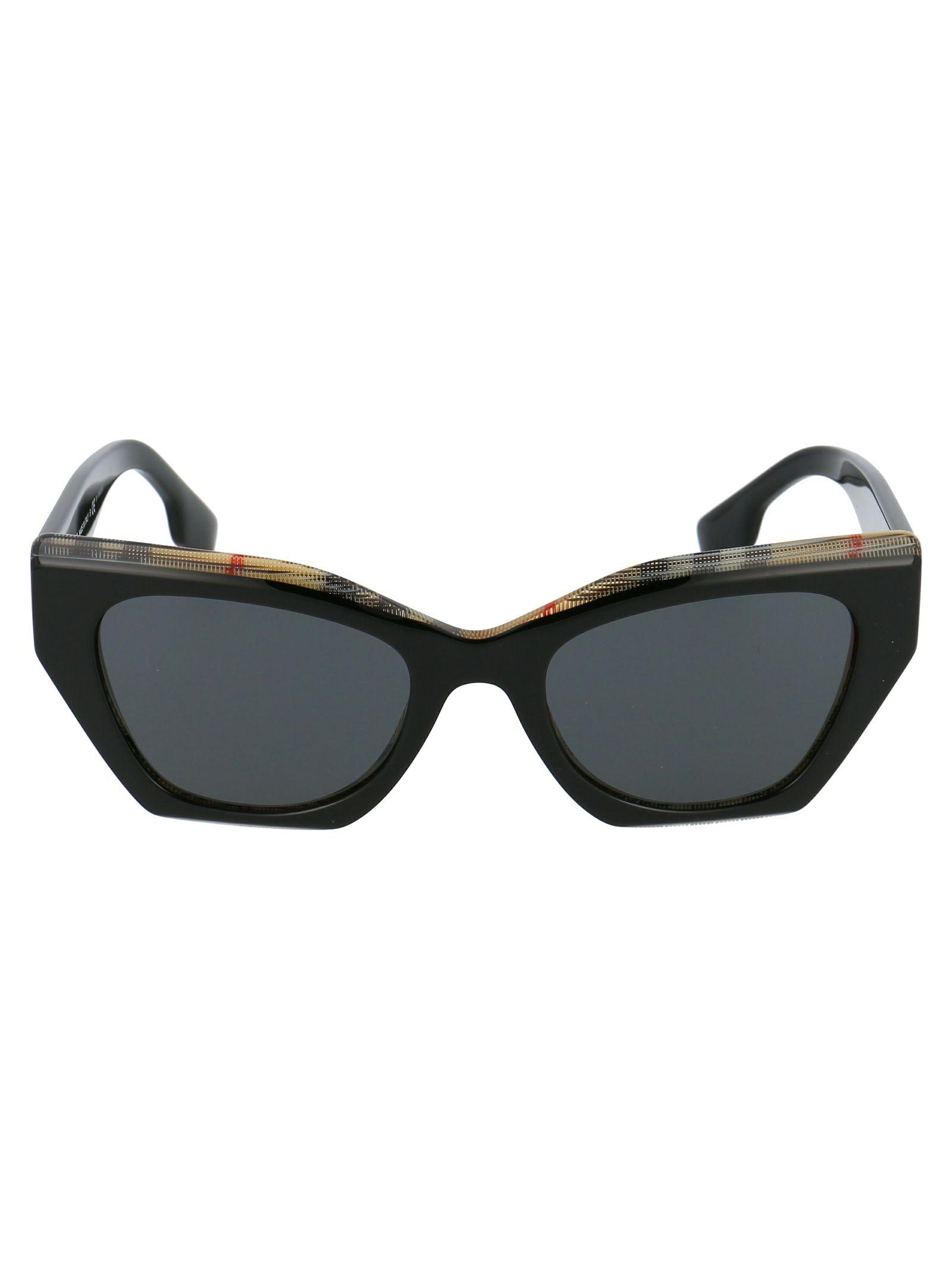 Burberry Women's Multicolor Metal Sunglasses