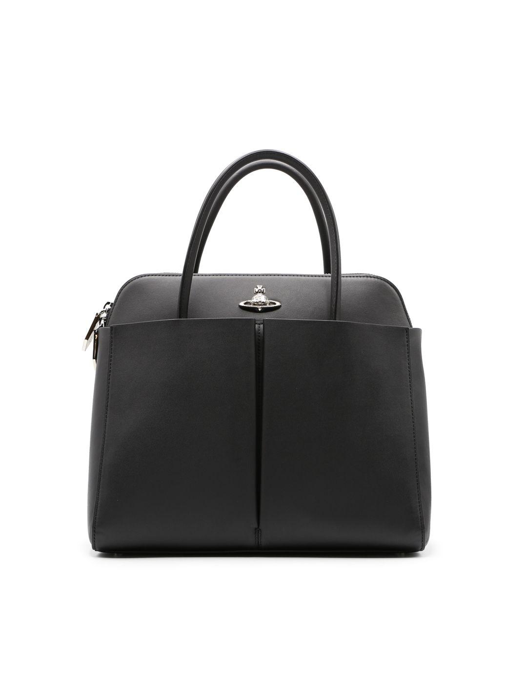 Vivienne Westwood Black Leather Handbag