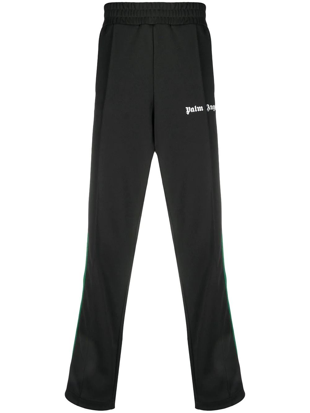 Palm Angels PALM ANGELS MEN'S BLACK POLYESTER JOGGERS