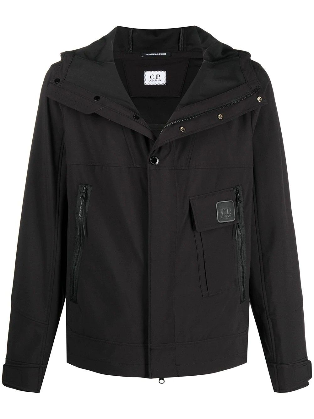 C.p. Company Jackets CP COMPANY MEN'S BLACK POLYESTER OUTERWEAR JACKET
