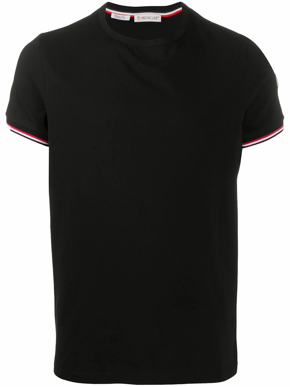 Moncler MONCLER MEN'S BLACK COTTON T-SHIRT