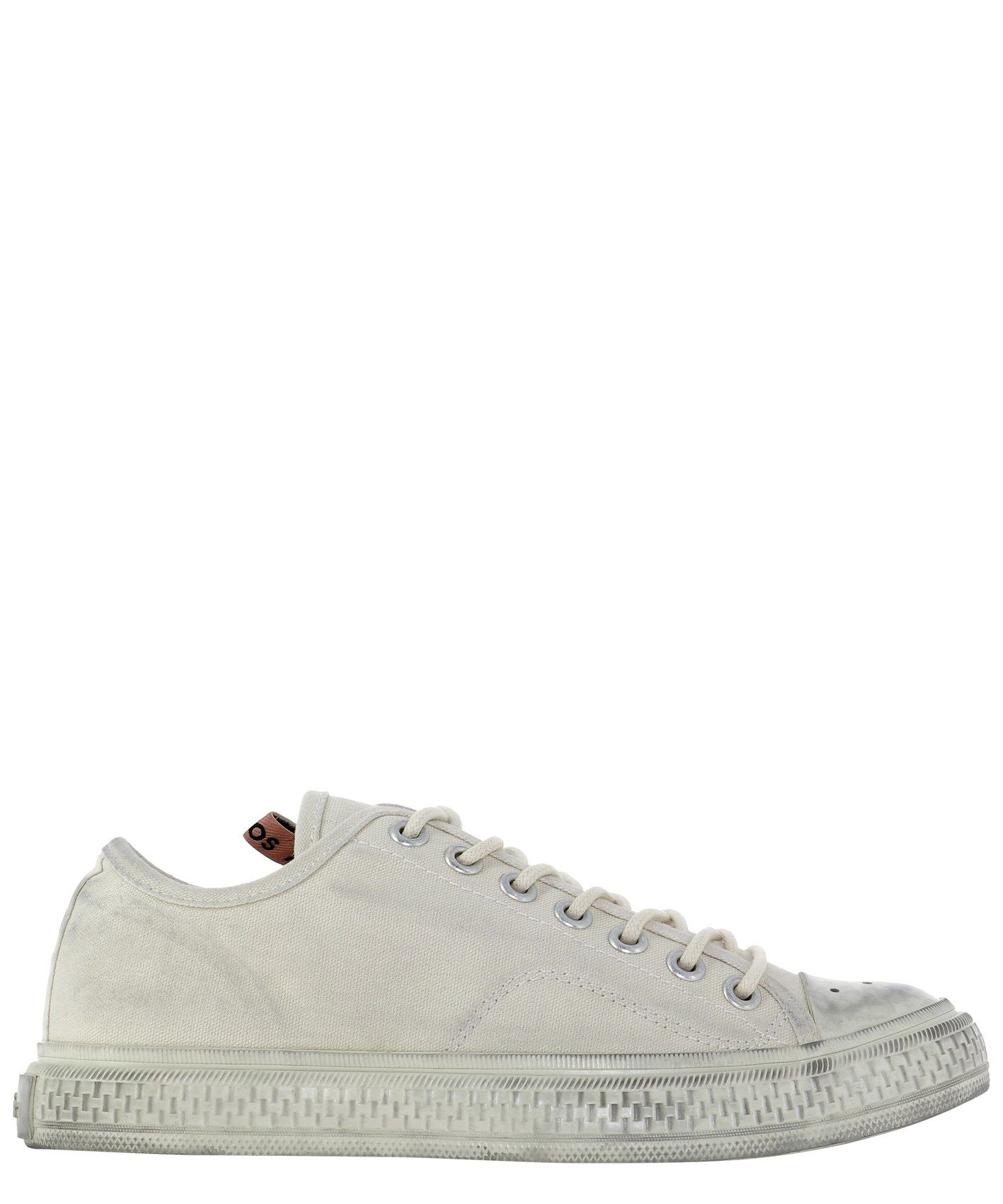 Acne Studios ACNE STUDIOS WOMEN'S WHITE OTHER MATERIALS SNEAKERS