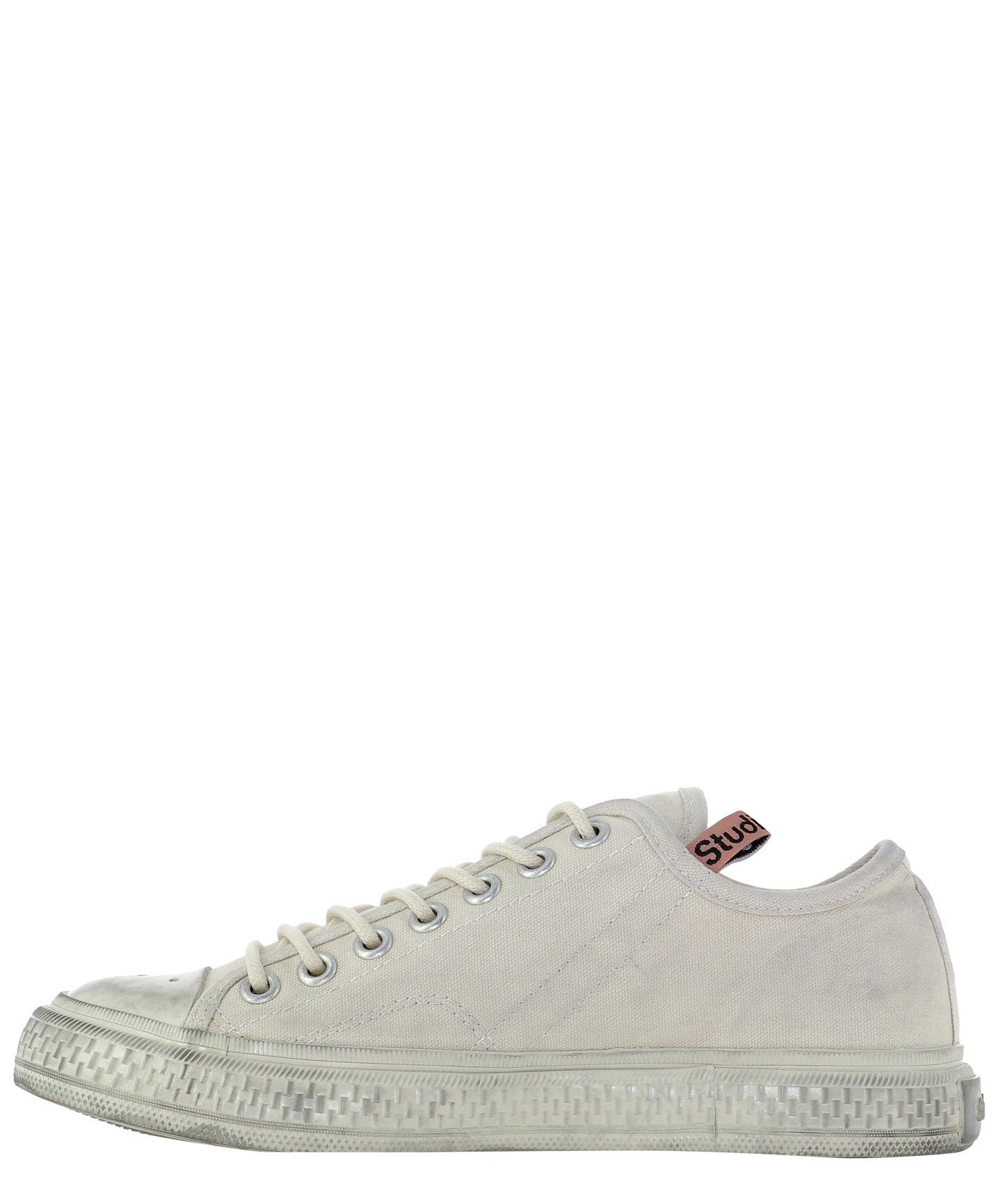 ACNE STUDIOS Low tops ACNE STUDIOS WOMEN'S WHITE OTHER MATERIALS SNEAKERS