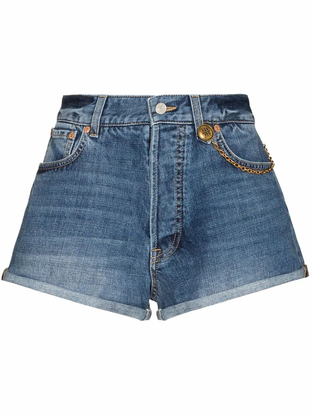 Givenchy GIVENCHY WOMEN'S BLUE COTTON SHORTS