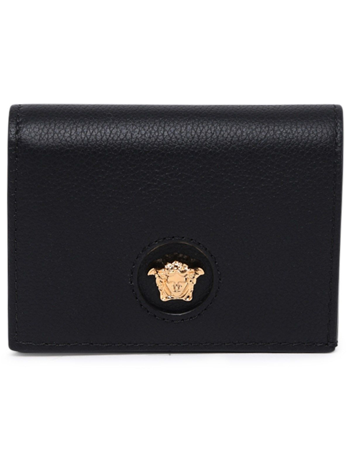 Versace Women's Black Leather Wallet