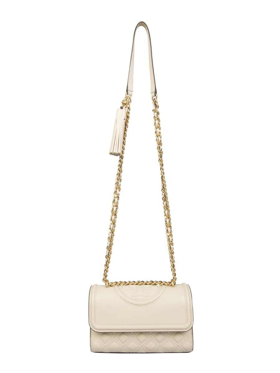 Tory Burch TORY BURCH WOMEN'S WHITE OTHER MATERIALS SHOULDER BAG