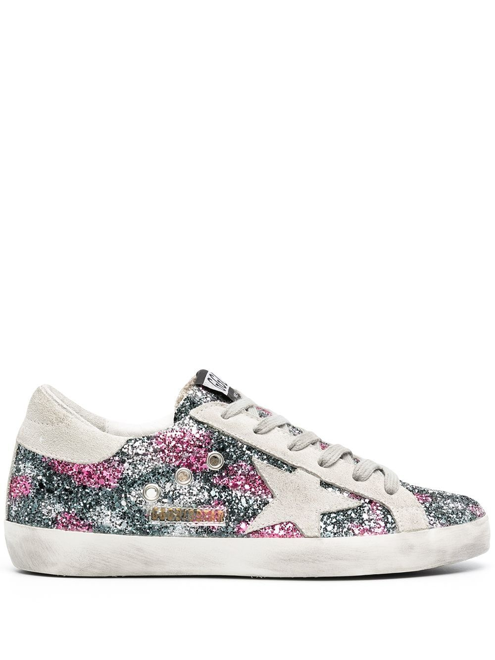 Golden Goose GOLDEN GOOSE WOMEN'S MULTICOLOR LEATHER SNEAKERS