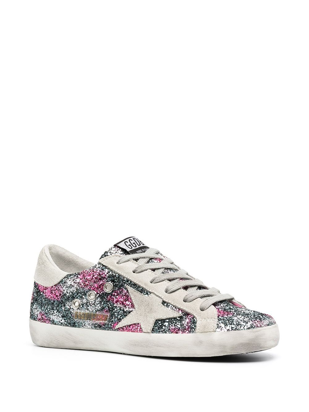 GOLDEN GOOSE Leathers GOLDEN GOOSE WOMEN'S MULTICOLOR LEATHER SNEAKERS