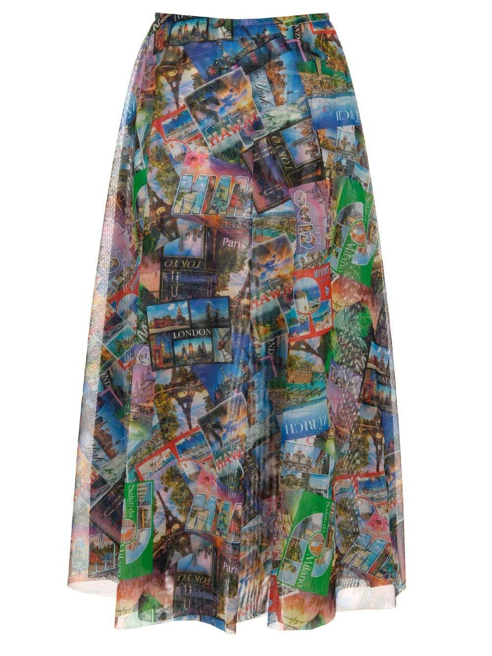 BALENCIAGA Skirts BALENCIAGA WOMEN'S MULTICOLOR SKIRT