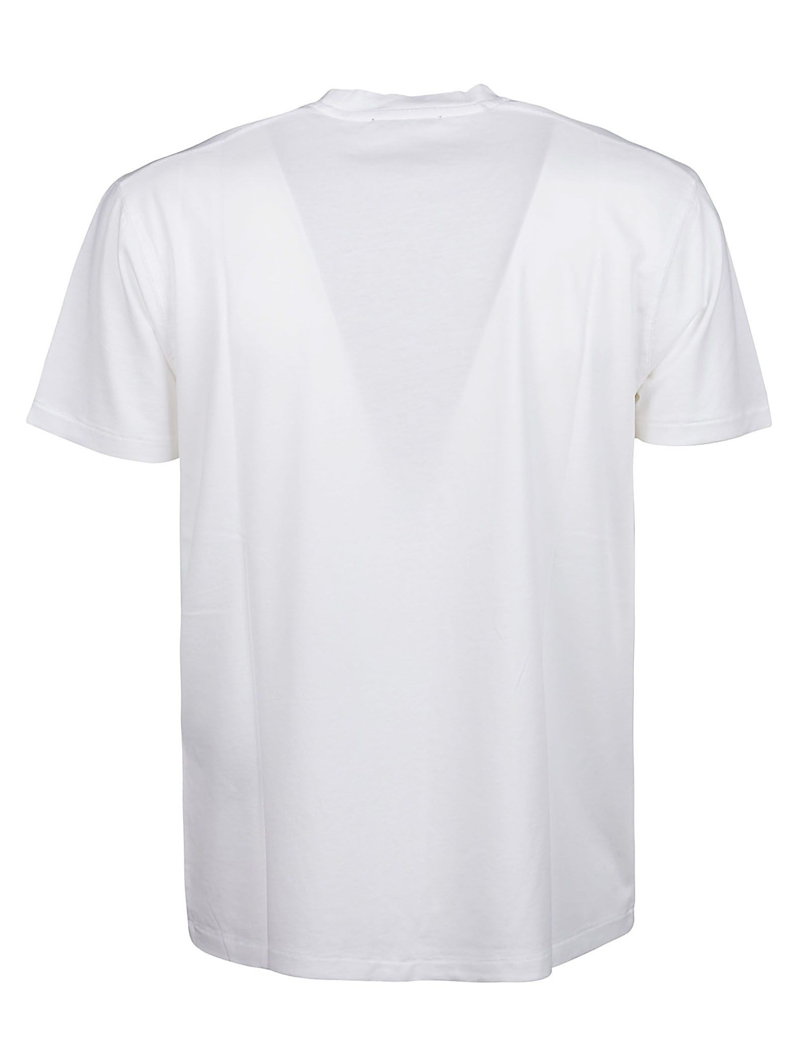 TOM FORD Cottons TOM FORD MEN'S WHITE OTHER MATERIALS T-SHIRT