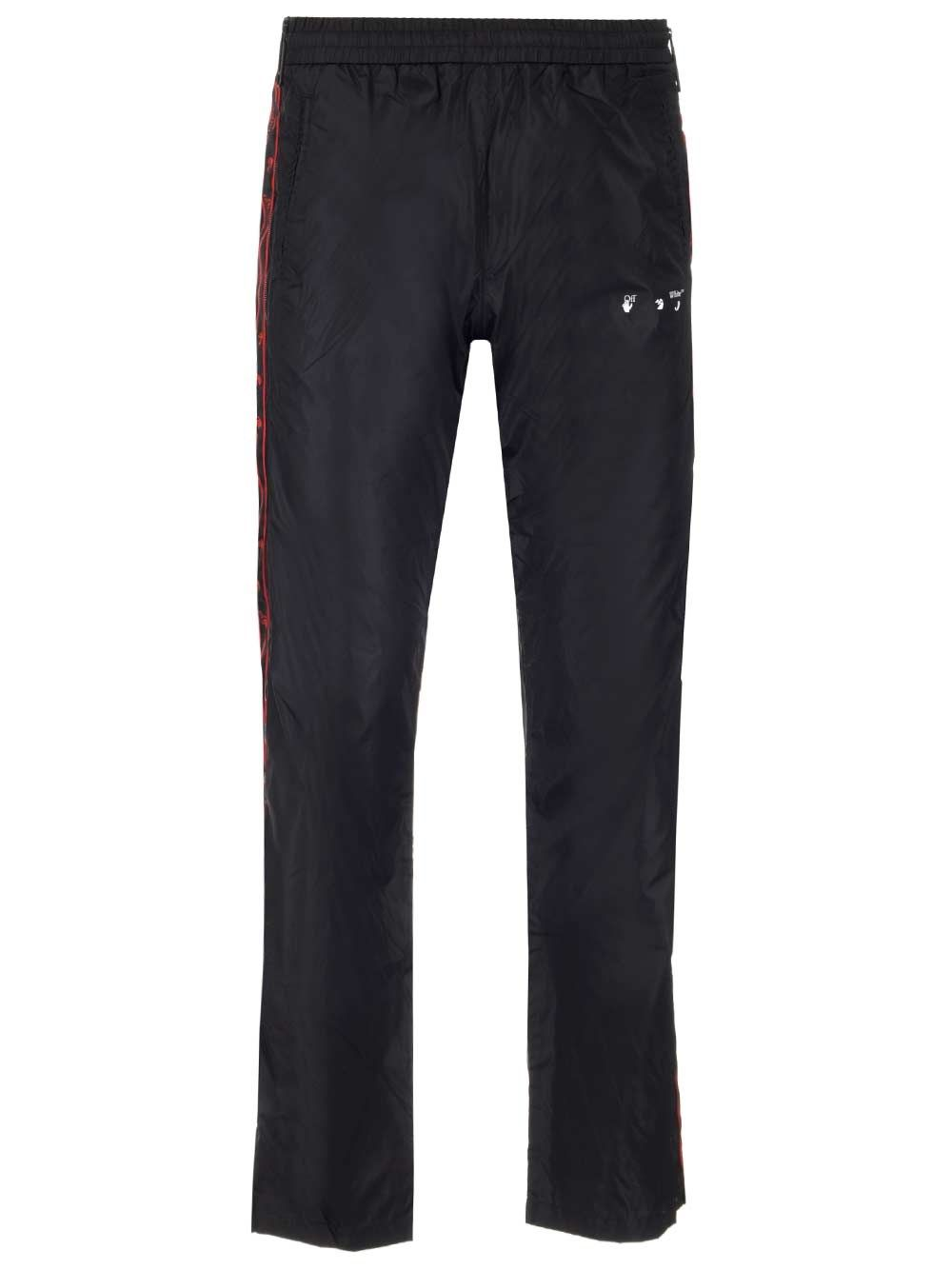 Off-White Linings OFF-WHITE MEN'S BLACK OTHER MATERIALS PANTS