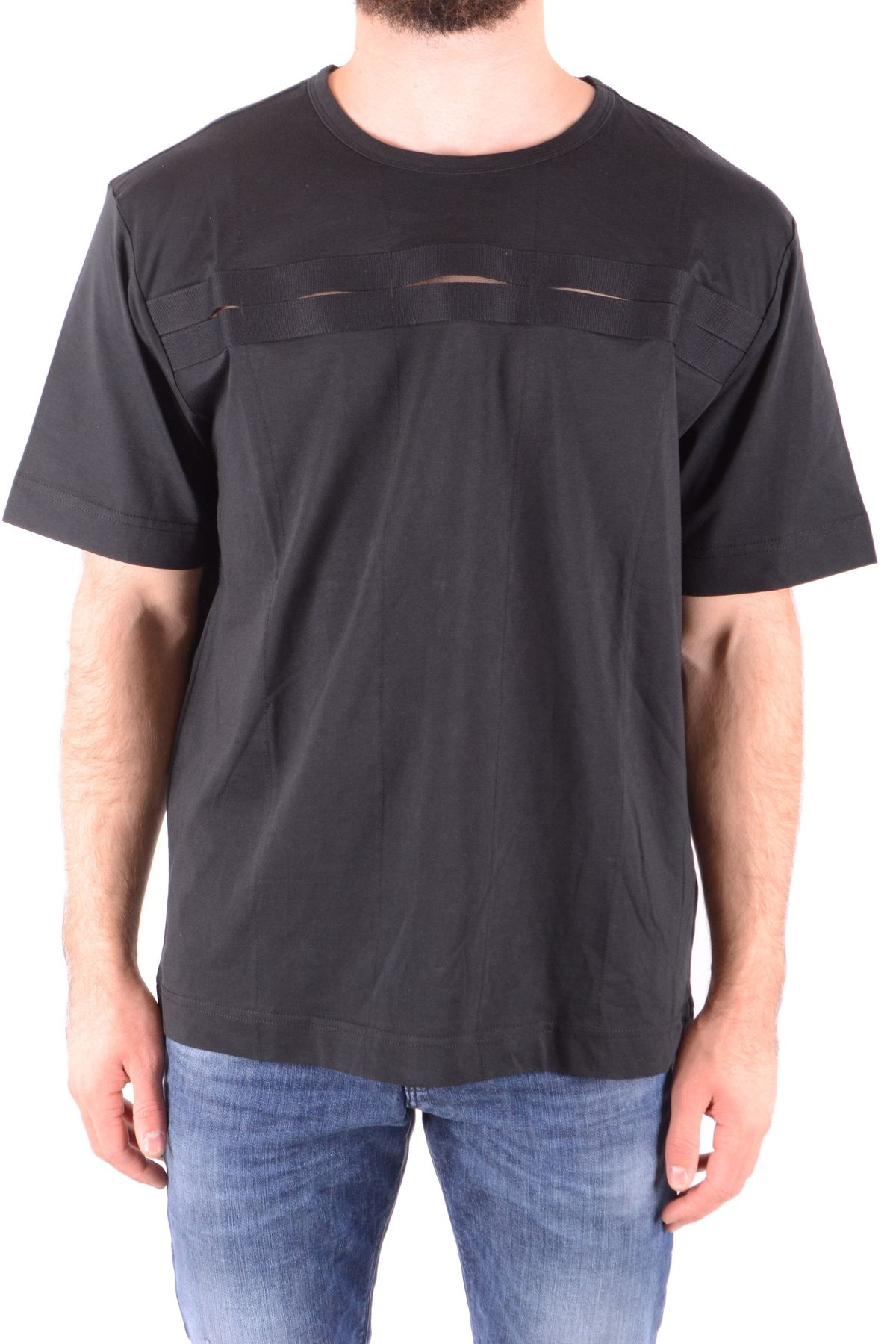 Diesel Black Gold Black Cotton Polo Shirt