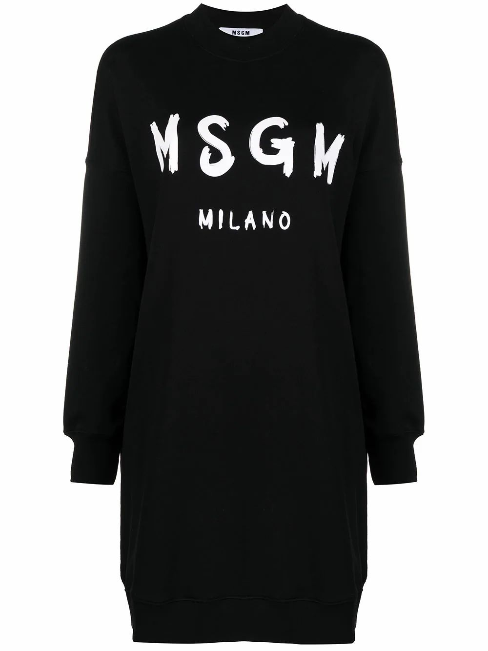 Msgm MSGM WOMEN'S BLACK COTTON DRESS
