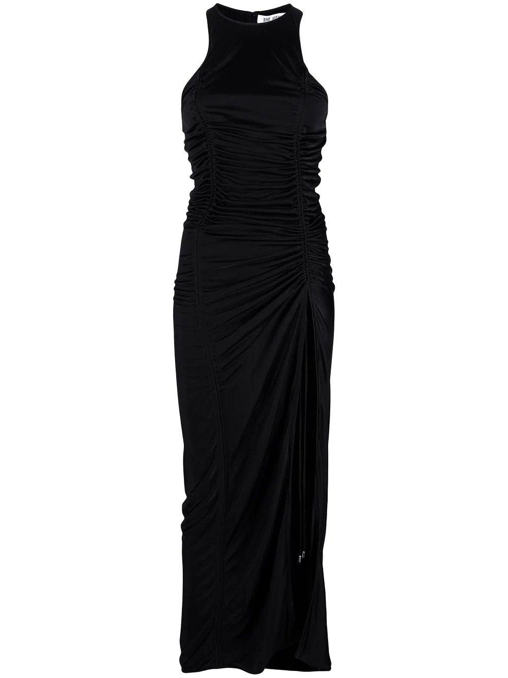 Attico THE ATTICO WOMEN'S BLACK VISCOSE DRESS